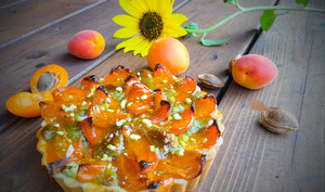 Tarte abricot pistache d' Eric Kayser