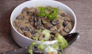 Escargots aux champignons et au Chablis
