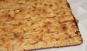 Tarte aux pommes en pâte levée