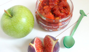 Chutney figues et pommes
