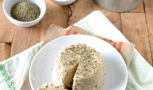 Fromage végétal au piment d'Espelette et herbes de Provence