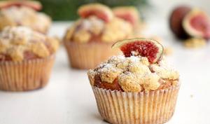 Muffins figues et noix