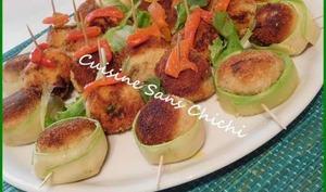 Boulettes apéritives de thon à la provençale