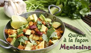 Quinoa à la façon Mexicaine