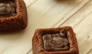 Bouchées au chocolat et aux pommes de terre