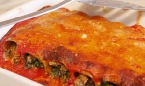 Cannelloni sans gluten aux épinards