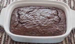 Gâteau fondant au chocolat et aux courgettes