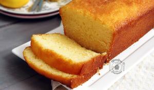 Cake au citron d'après Pierre Hermé