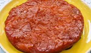 Tatin aux pommes légère sans pâte