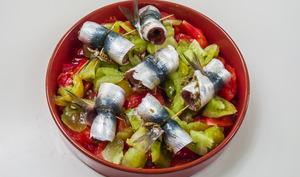 Roulés de sardines aux tomates