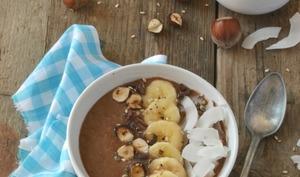Smoothie bowl chocolat et banane