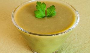 Soupe facile aux haricots verts