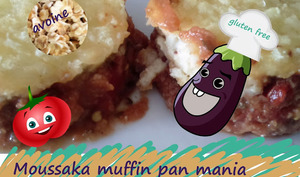 "Mini moussaka ""muffin pan mania"""