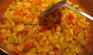 Confiture butternut, oranges, carottes et cannelle