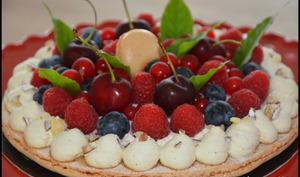 Macaron fruits rouges d'après Nicolas Bernardé