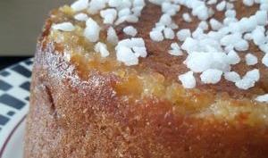 Délicieux gâteau de pain perdu