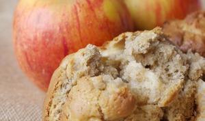 Muffins épicés Pomme/ Tahini