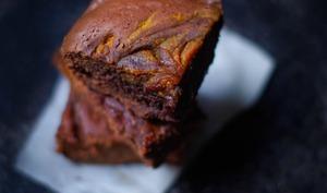 Brownie chocolat potiron