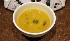 Soupe poireaux, pommes de terre