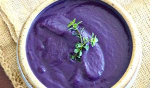 Soupe toute violette!