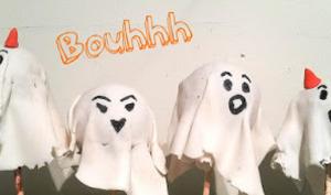 Cake-pop Bouhhhh Halloween