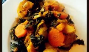 Poêlée de légumes d'automne