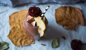 Smoothie aux fruits d'automne
