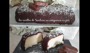 Gâteau noix de coco et chocolat ou gâteau Bounty® au comapnion ou autres robots