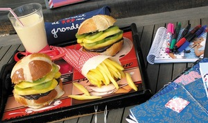 Des hamburgers pour le goûter