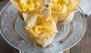 Corolles aux pommes et au caramel au beurre salé
