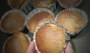 Muffins d'automne aux graines de chia