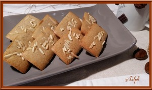 Financiers à la crème de marron