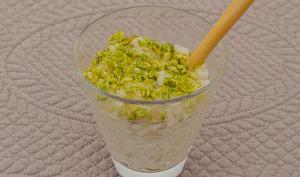 Riz au lait aux pistaches