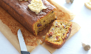 Cranberry and pumpkin spice bread