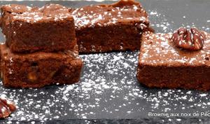 Brownie auxnoix de pécan caramélisées d'Alain Ducasse