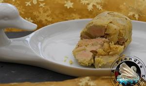 Foie gras mi-cuit à l'ananas de Cyril Lignac