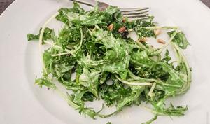 Salade de mizuna, à ma sauce