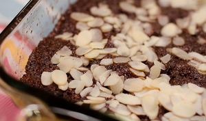 Moelleux au chocolat et aux amandes, cuisson micro-ondes
