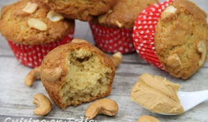 Muffins aux cacahuètes