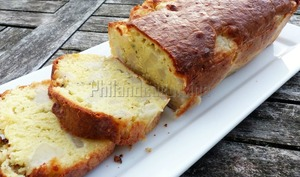 Cake poire roquefort