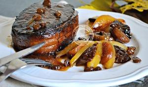 Plancha de rôti en tournedos de bœuf
