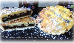 Tartelettes figue et figue-poire