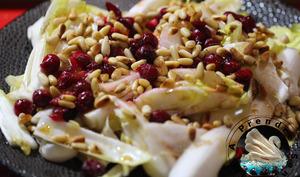 Salade aux cranberries