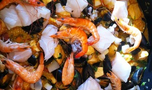 Ma Paella originale sans riz