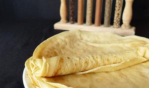 Crêpes aux épices et à la farine d'épeautre