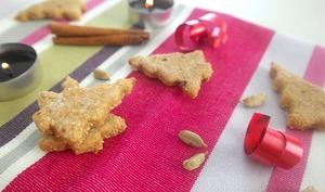 Biscuit à la cannelle et à la cardamome