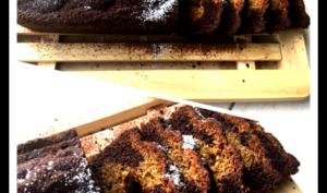 Cake chocolat /pistache