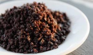 Caviar d'olives noires