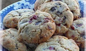 Cookies Chocolat et Cranberries