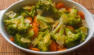 Gratins de brocolis et carottes
